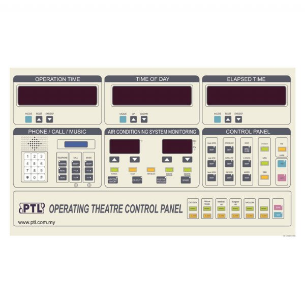Operating Room DP Control Panel