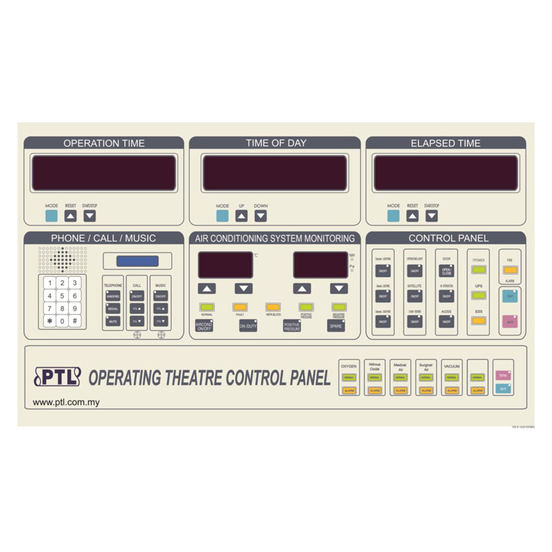 Operating Room DP Control Panel